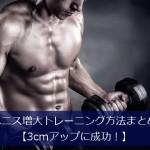 ペニス増大トレーニング