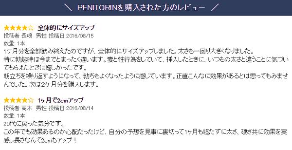 ペニトリンのレビュー